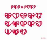 フォントデザイン ロゴデザイン