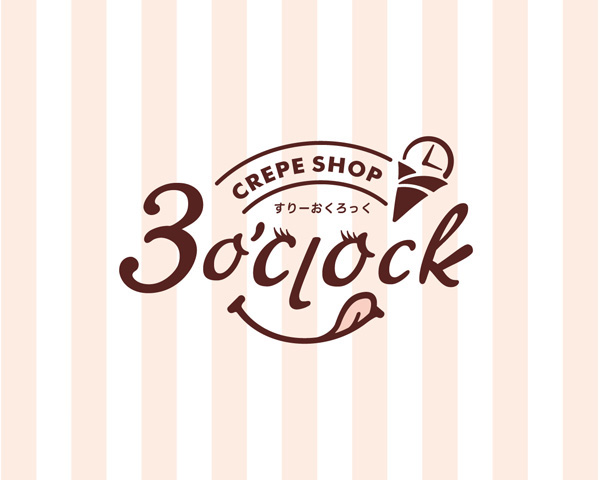 3o'clock ロゴデザイン