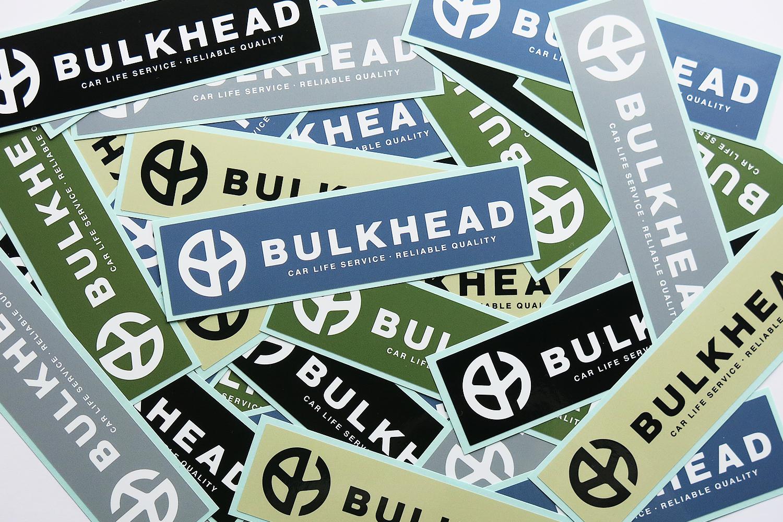 BULKHEAD ステッカー デザイン