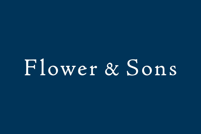 Flower & Sons ロゴデザイン