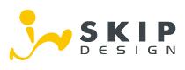 ロゴデザイングラフィックデザイン スキップデザイン