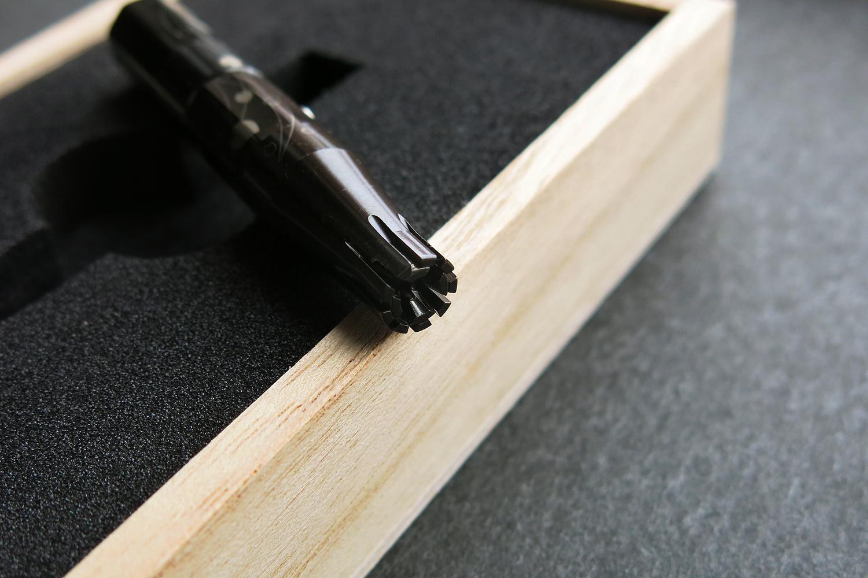 鼻毛切り 利刃 RIJIN ゑびす堂 パッケージデザイン