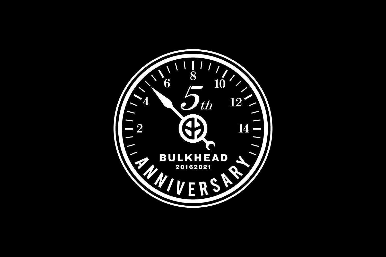 BULKHEAD バルクヘッド 5周年 ロゴデザイン